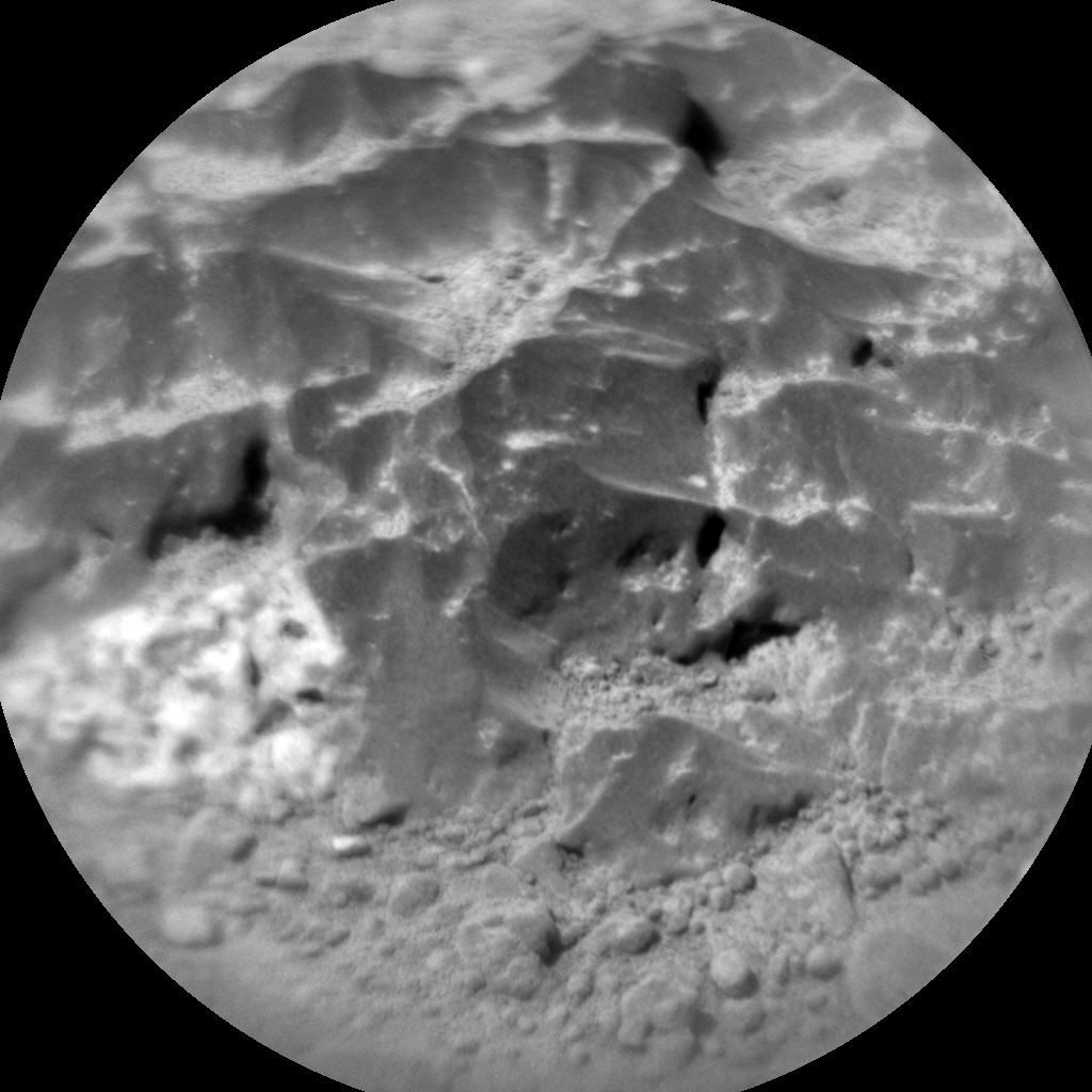 Nasa's Mars rover Curiosity acquired this image using its Chemistry & Camera (ChemCam) on Sol 465, at drive 616, site number 23