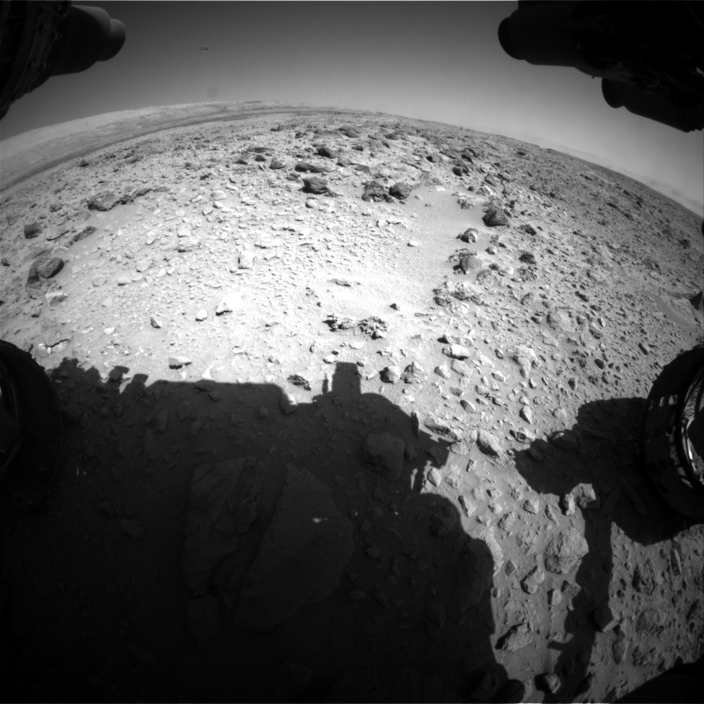 Nasa's Mars rover Curiosity acquired this image using its Front Hazard Avoidance Camera (Front Hazcam) on Sol 466, at drive 890, site number 23