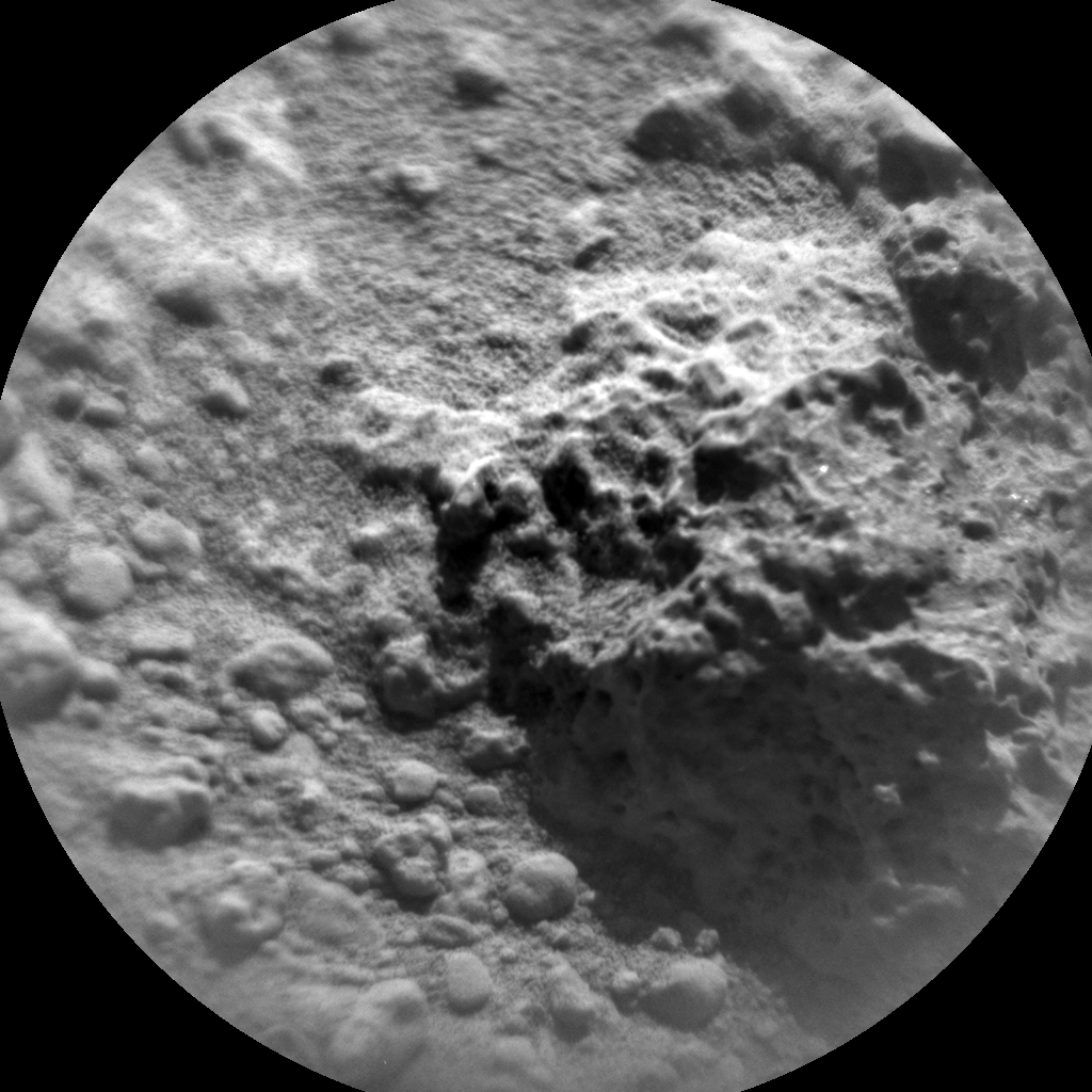 Nasa's Mars rover Curiosity acquired this image using its Chemistry & Camera (ChemCam) on Sol 466, at drive 890, site number 23
