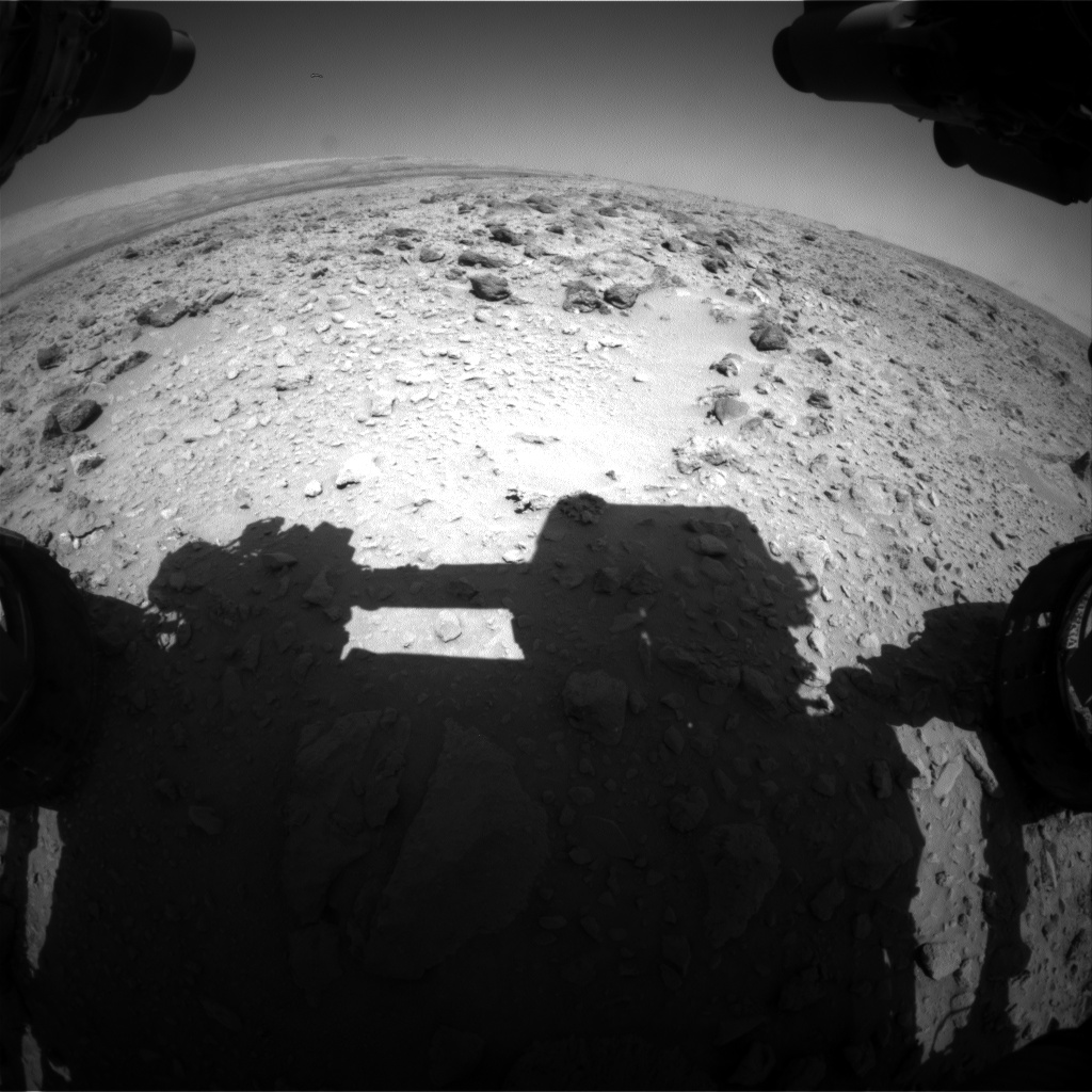 Nasa's Mars rover Curiosity acquired this image using its Front Hazard Avoidance Camera (Front Hazcam) on Sol 467, at drive 890, site number 23