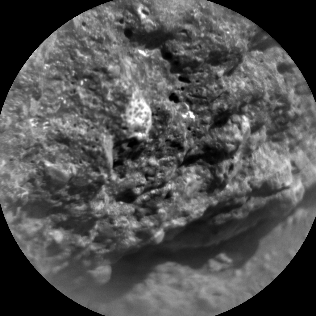 Nasa's Mars rover Curiosity acquired this image using its Chemistry & Camera (ChemCam) on Sol 469, at drive 890, site number 23