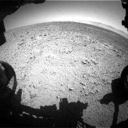 Nasa's Mars rover Curiosity acquired this image using its Front Hazard Avoidance Camera (Front Hazcam) on Sol 470, at drive 1454, site number 23