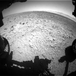 Nasa's Mars rover Curiosity acquired this image using its Front Hazard Avoidance Camera (Front Hazcam) on Sol 470, at drive 1472, site number 23