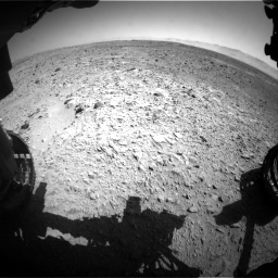 Nasa's Mars rover Curiosity acquired this image using its Front Hazard Avoidance Camera (Front Hazcam) on Sol 470, at drive 1484, site number 23