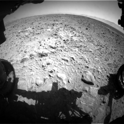 Nasa's Mars rover Curiosity acquired this image using its Front Hazard Avoidance Camera (Front Hazcam) on Sol 470, at drive 1508, site number 23