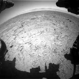 Nasa's Mars rover Curiosity acquired this image using its Front Hazard Avoidance Camera (Front Hazcam) on Sol 470, at drive 1310, site number 23