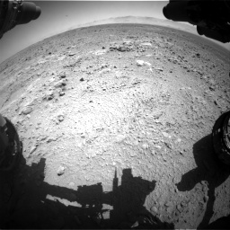 Nasa's Mars rover Curiosity acquired this image using its Front Hazard Avoidance Camera (Front Hazcam) on Sol 470, at drive 1328, site number 23