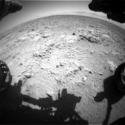 Nasa's Mars rover Curiosity acquired this image using its Front Hazard Avoidance Camera (Front Hazcam) on Sol 470, at drive 1346, site number 23