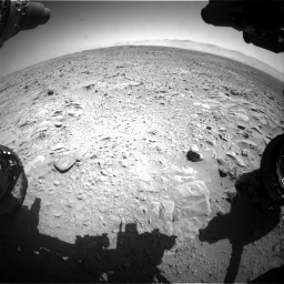 Nasa's Mars rover Curiosity acquired this image using its Front Hazard Avoidance Camera (Front Hazcam) on Sol 470, at drive 1364, site number 23