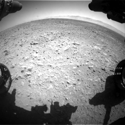 Nasa's Mars rover Curiosity acquired this image using its Front Hazard Avoidance Camera (Front Hazcam) on Sol 470, at drive 1400, site number 23