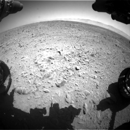 Nasa's Mars rover Curiosity acquired this image using its Front Hazard Avoidance Camera (Front Hazcam) on Sol 470, at drive 1418, site number 23