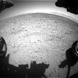 Nasa's Mars rover Curiosity acquired this image using its Front Hazard Avoidance Camera (Front Hazcam) on Sol 470, at drive 1436, site number 23