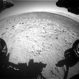 Nasa's Mars rover Curiosity acquired this image using its Front Hazard Avoidance Camera (Front Hazcam) on Sol 470, at drive 1466, site number 23