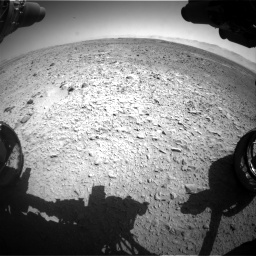 Nasa's Mars rover Curiosity acquired this image using its Front Hazard Avoidance Camera (Front Hazcam) on Sol 470, at drive 1478, site number 23