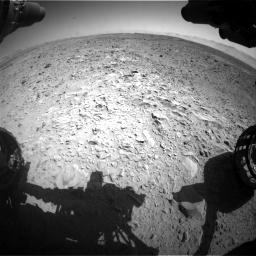 Nasa's Mars rover Curiosity acquired this image using its Front Hazard Avoidance Camera (Front Hazcam) on Sol 470, at drive 1496, site number 23