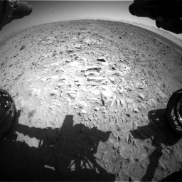 Nasa's Mars rover Curiosity acquired this image using its Front Hazard Avoidance Camera (Front Hazcam) on Sol 470, at drive 1502, site number 23