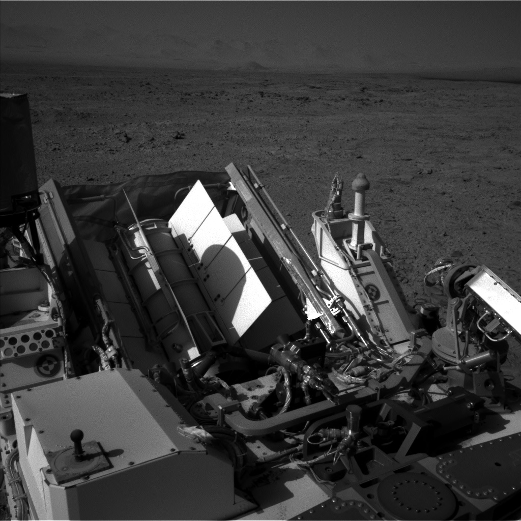Nasa's Mars rover Curiosity acquired this image using its Left Navigation Camera on Sol 470, at drive 0, site number 24