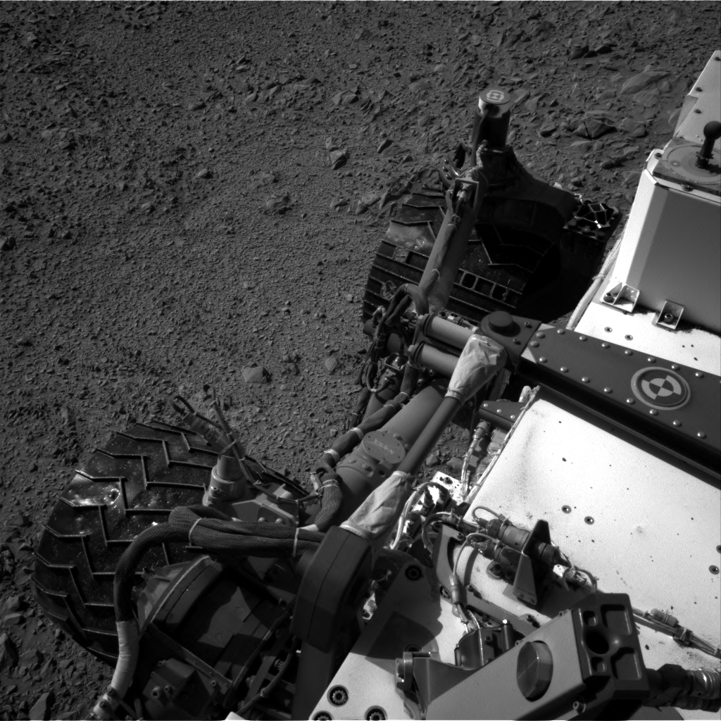 Nasa's Mars rover Curiosity acquired this image using its Right Navigation Camera on Sol 470, at drive 0, site number 24