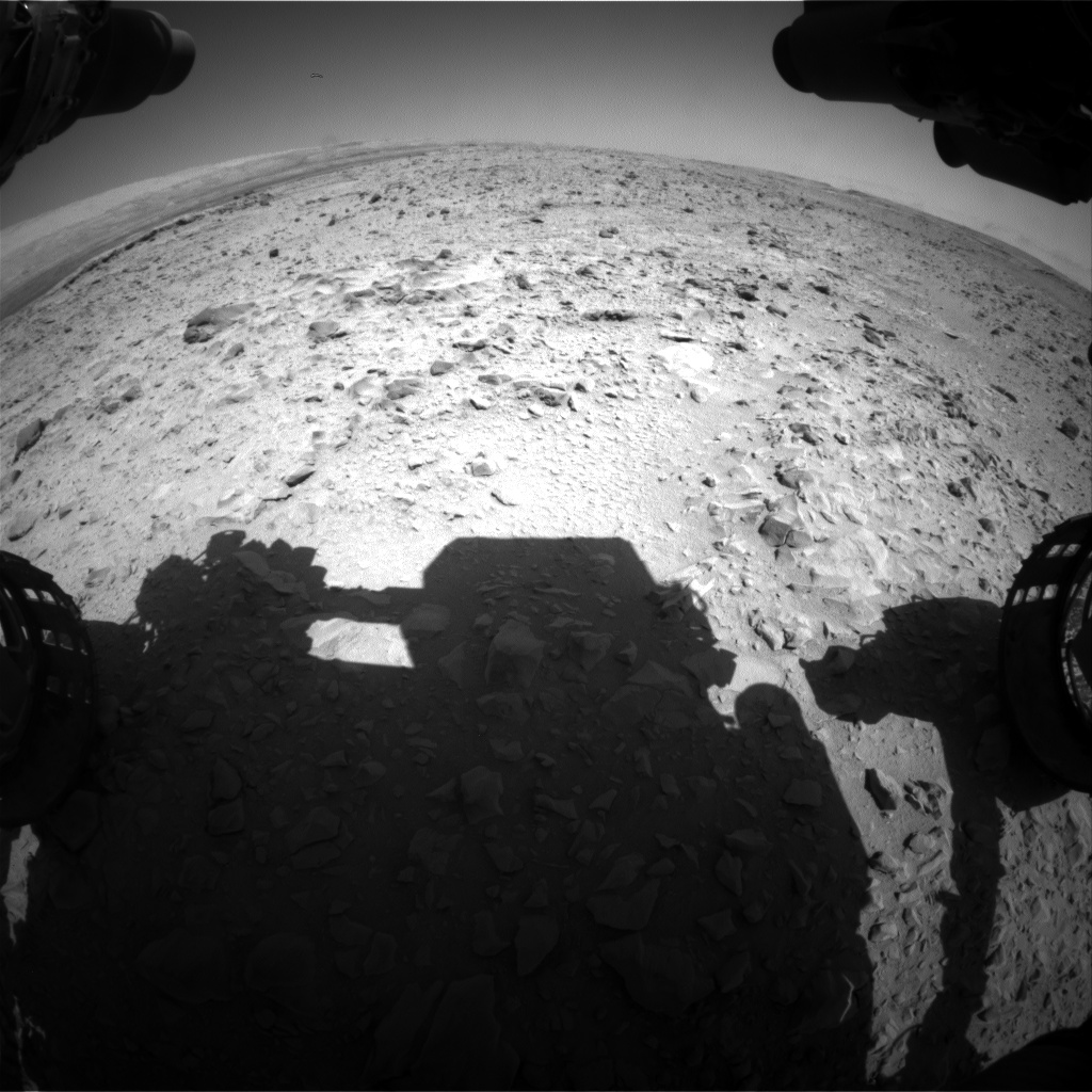 Nasa's Mars rover Curiosity acquired this image using its Front Hazard Avoidance Camera (Front Hazcam) on Sol 471, at drive 0, site number 24