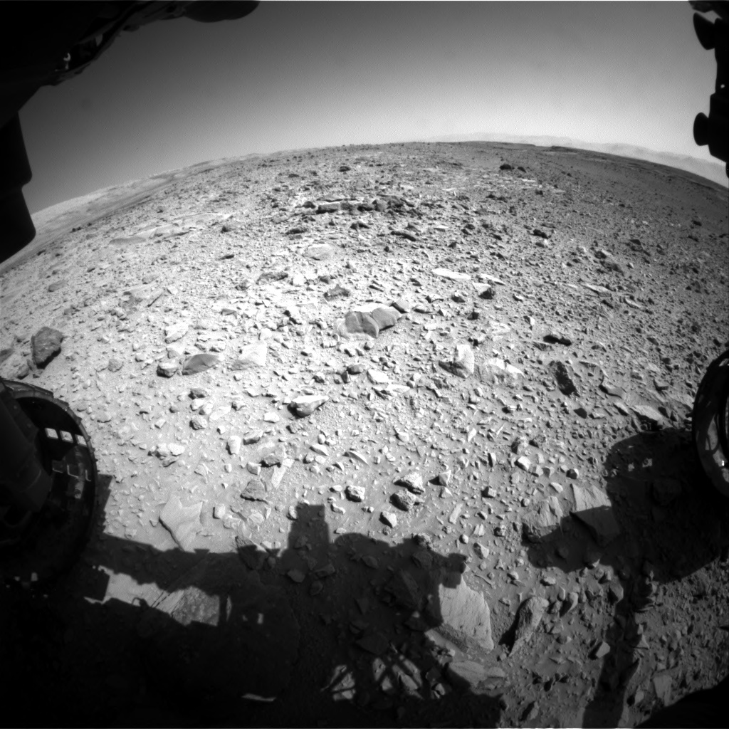 Nasa's Mars rover Curiosity acquired this image using its Front Hazard Avoidance Camera (Front Hazcam) on Sol 472, at drive 192, site number 24