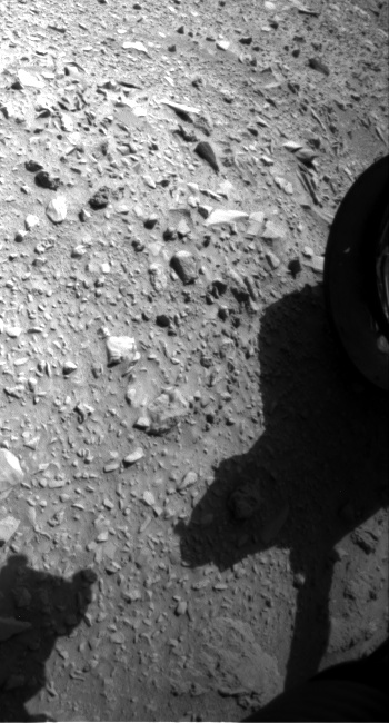Nasa's Mars rover Curiosity acquired this image using its Front Hazard Avoidance Camera (Front Hazcam) on Sol 474, at drive 240, site number 24
