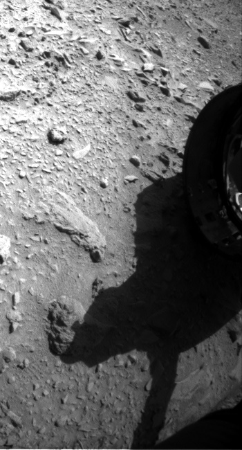 Nasa's Mars rover Curiosity acquired this image using its Front Hazard Avoidance Camera (Front Hazcam) on Sol 474, at drive 228, site number 24