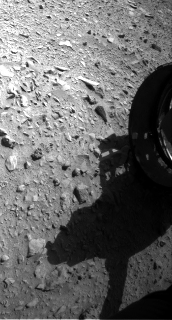 Nasa's Mars rover Curiosity acquired this image using its Front Hazard Avoidance Camera (Front Hazcam) on Sol 474, at drive 246, site number 24