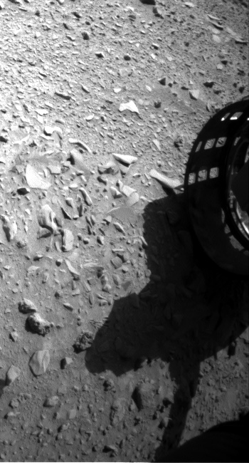 Nasa's Mars rover Curiosity acquired this image using its Front Hazard Avoidance Camera (Front Hazcam) on Sol 474, at drive 252, site number 24