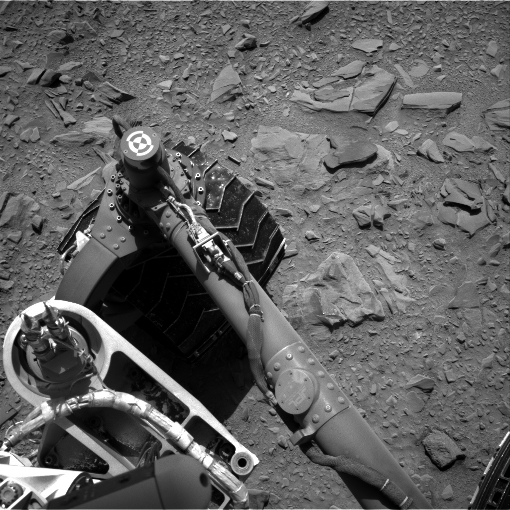 Nasa's Mars rover Curiosity acquired this image using its Right Navigation Camera on Sol 474, at drive 234, site number 24