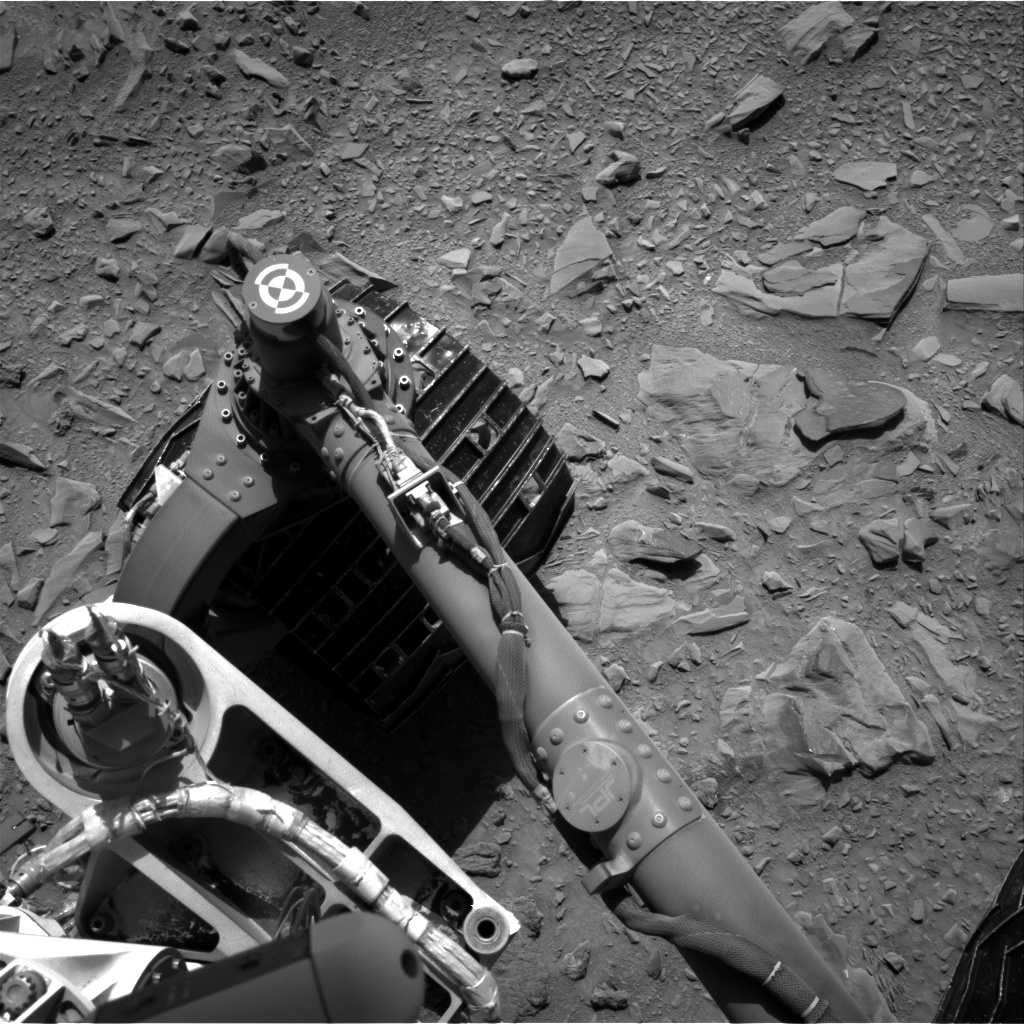Nasa's Mars rover Curiosity acquired this image using its Right Navigation Camera on Sol 474, at drive 240, site number 24