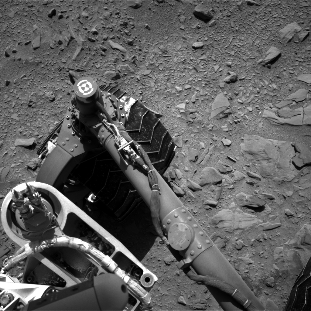 Nasa's Mars rover Curiosity acquired this image using its Right Navigation Camera on Sol 474, at drive 246, site number 24