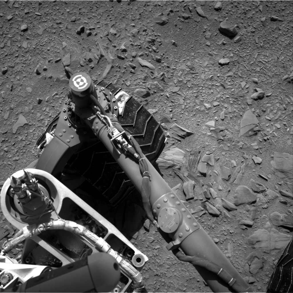 Nasa's Mars rover Curiosity acquired this image using its Right Navigation Camera on Sol 474, at drive 252, site number 24