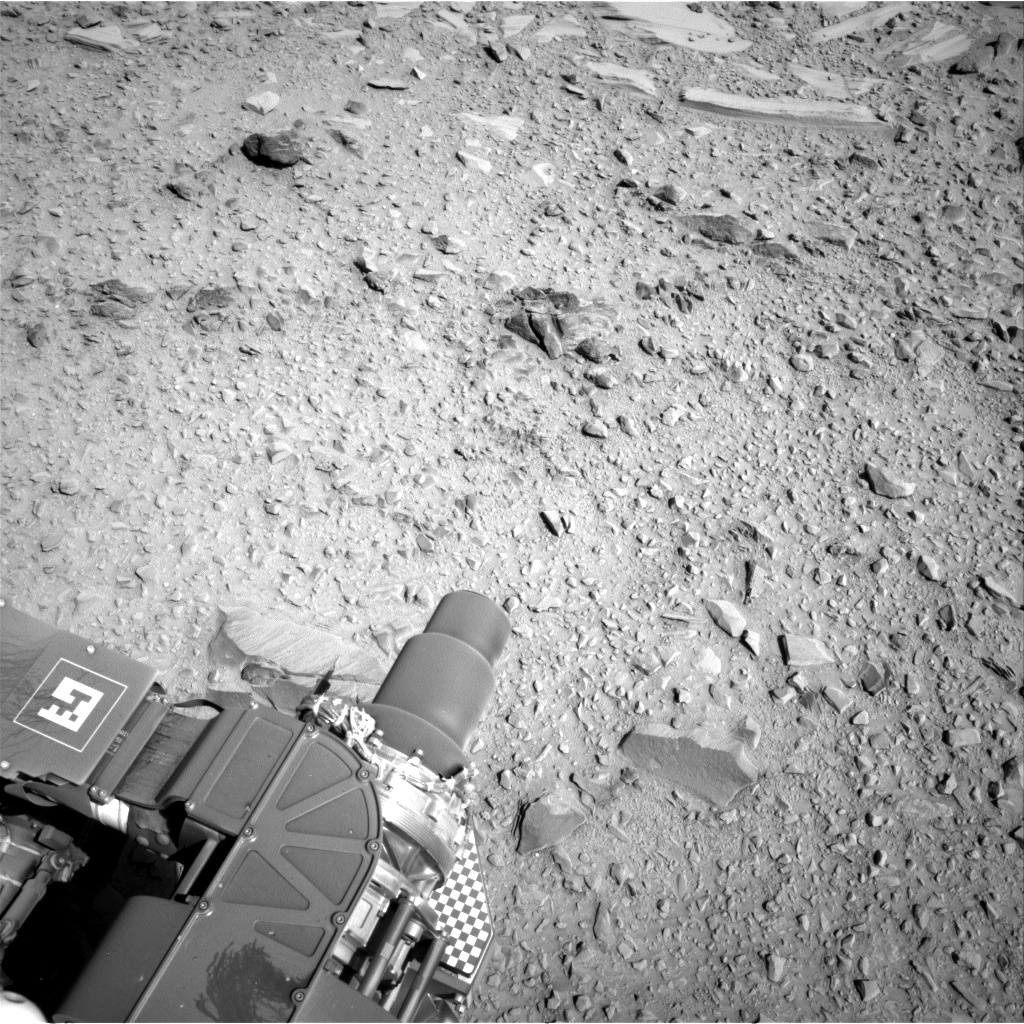 Nasa's Mars rover Curiosity acquired this image using its Right Navigation Camera on Sol 474, at drive 312, site number 24