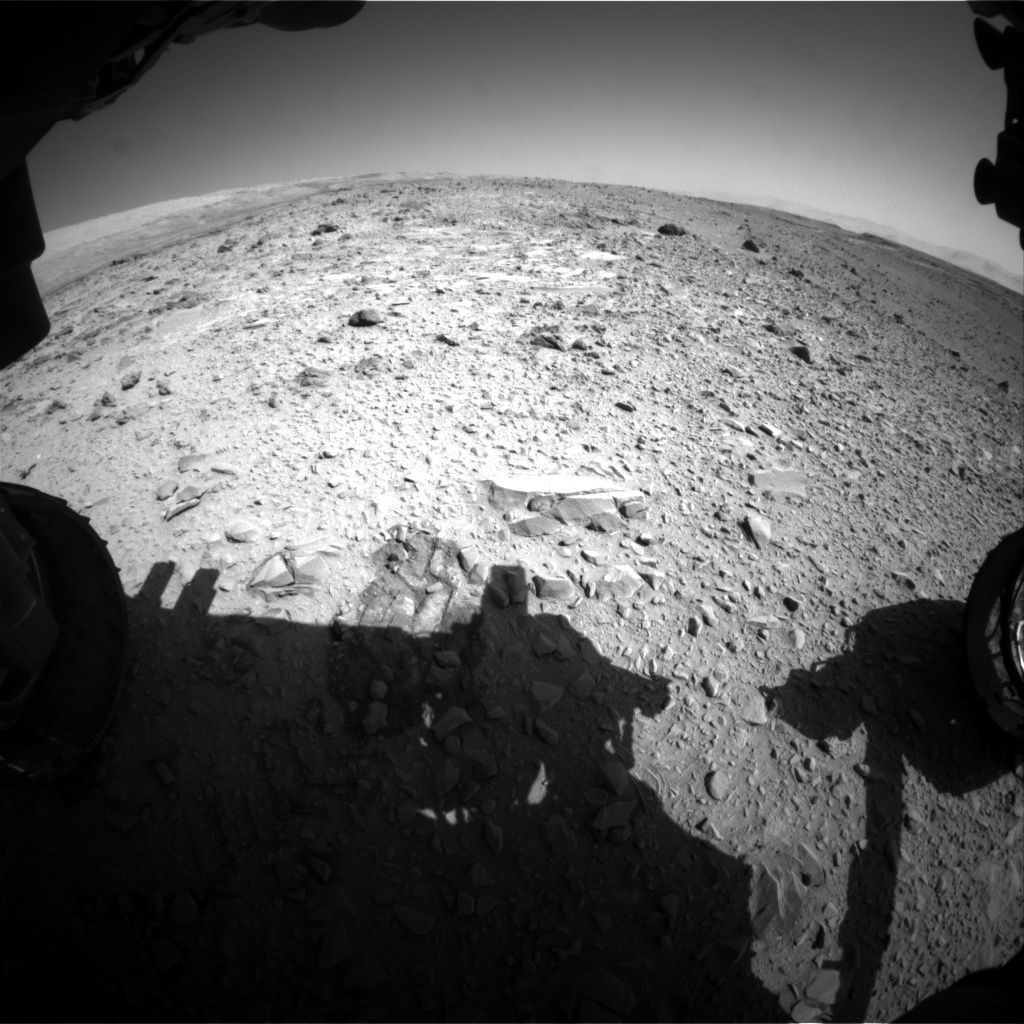 Nasa's Mars rover Curiosity acquired this image using its Front Hazard Avoidance Camera (Front Hazcam) on Sol 477, at drive 312, site number 24