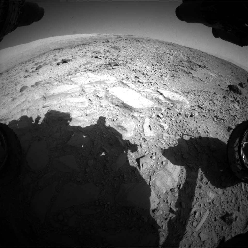 Nasa's Mars rover Curiosity acquired this image using its Front Hazard Avoidance Camera (Front Hazcam) on Sol 477, at drive 366, site number 24