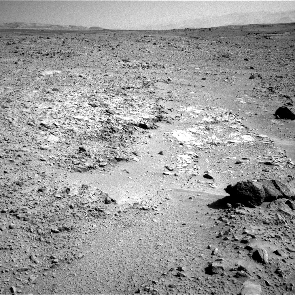 NASA's Mars rover Curiosity acquired this image using its Left Navigation Camera (Navcams) on Sol 477
