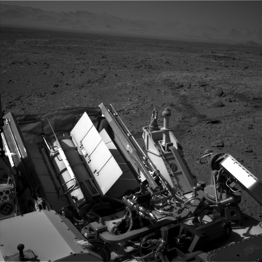 Nasa's Mars rover Curiosity acquired this image using its Left Navigation Camera on Sol 477, at drive 366, site number 24