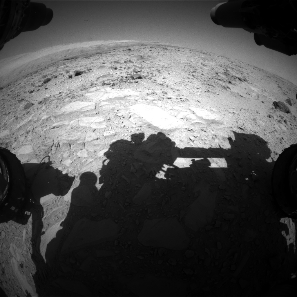 Nasa's Mars rover Curiosity acquired this image using its Front Hazard Avoidance Camera (Front Hazcam) on Sol 478, at drive 366, site number 24