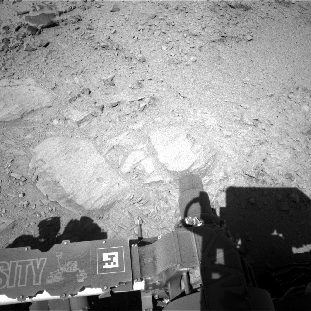 NASA's Mars rover Curiosity acquired this image using its Left Navigation Camera (Navcams) on Sol 478