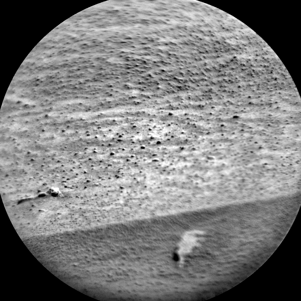Nasa's Mars rover Curiosity acquired this image using its Chemistry & Camera (ChemCam) on Sol 478, at drive 366, site number 24