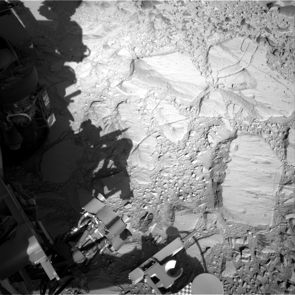 Nasa's Mars rover Curiosity acquired this image using its Right Navigation Camera on Sol 485, at drive 366, site number 24