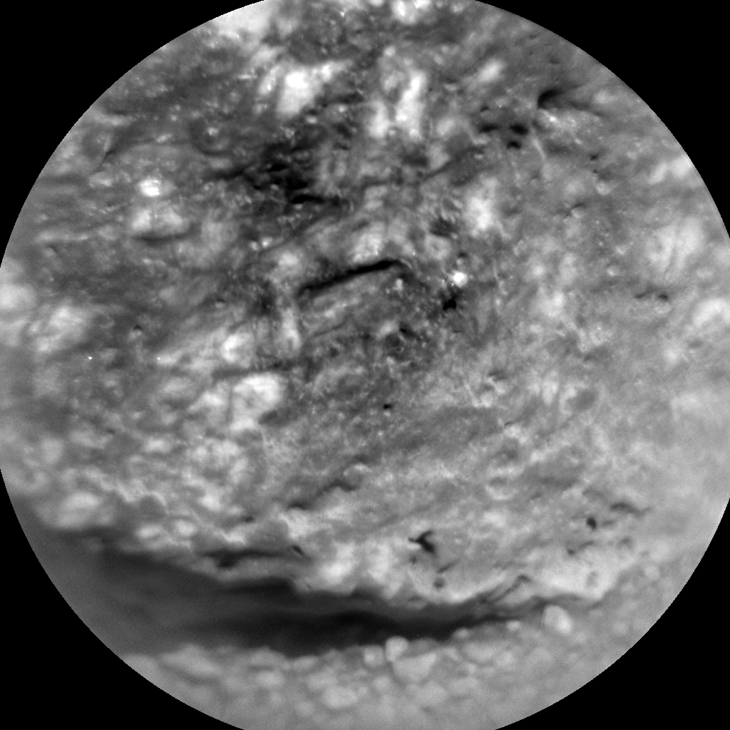 Nasa's Mars rover Curiosity acquired this image using its Chemistry & Camera (ChemCam) on Sol 486, at drive 366, site number 24