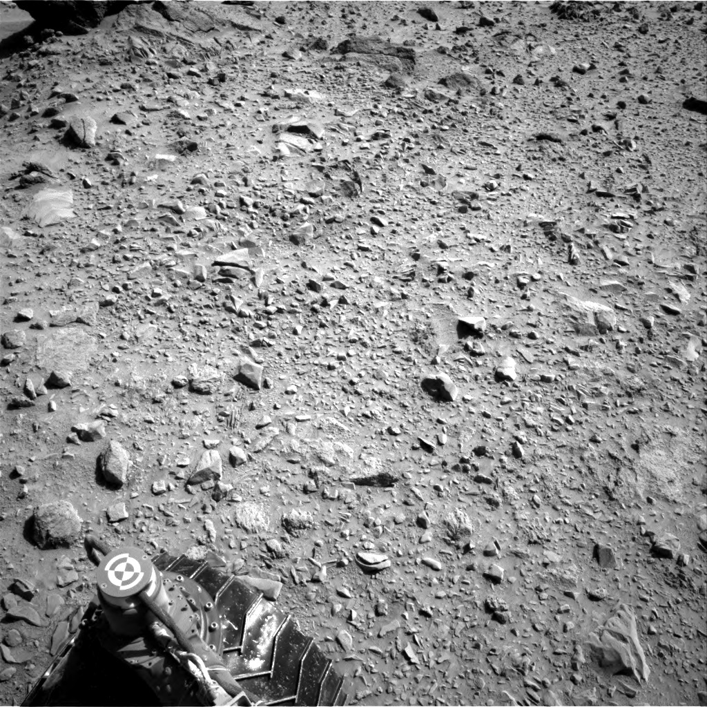 NASA's Mars rover Curiosity acquired this image using its Right Navigation Cameras (Navcams) on Sol 488