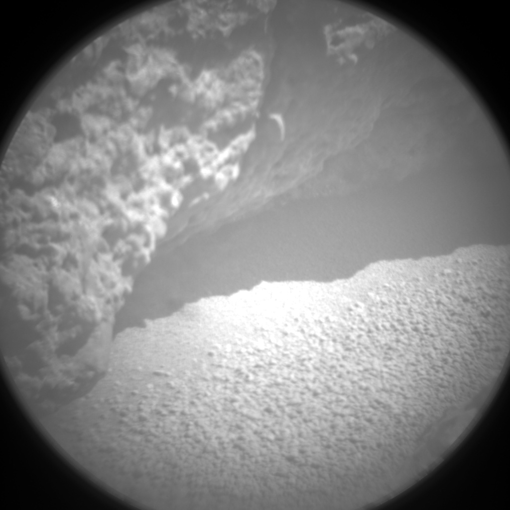 NASA's Mars rover Curiosity acquired this image using its Chemistry & Camera (ChemCam) on Sol 489