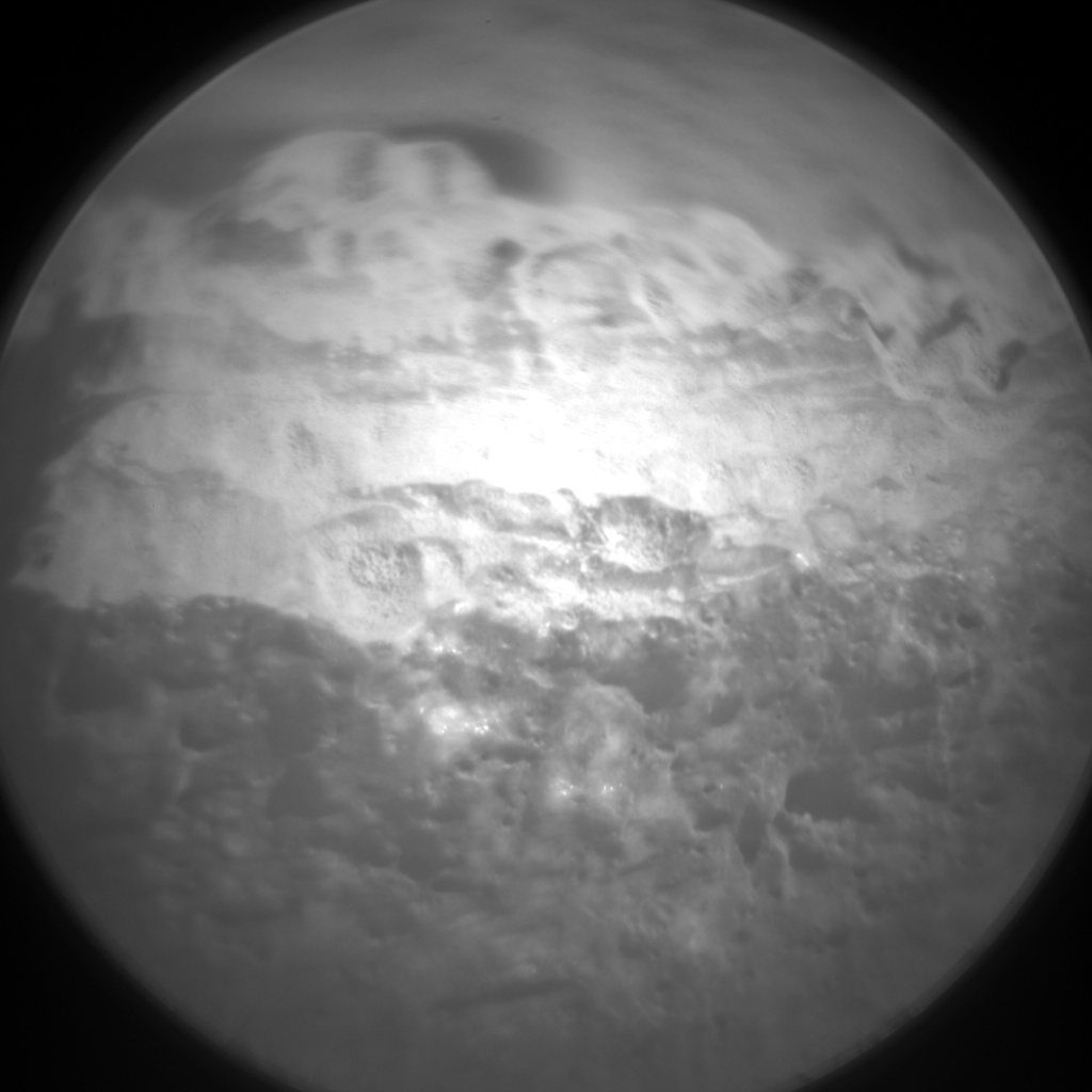 Nasa's Mars rover Curiosity acquired this image using its Chemistry & Camera (ChemCam) on Sol 489, at drive 378, site number 24