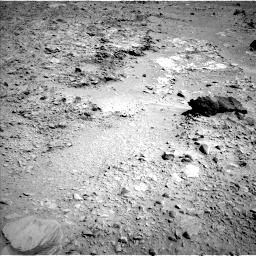Nasa's Mars rover Curiosity acquired this image using its Left Navigation Camera on Sol 489, at drive 378, site number 24