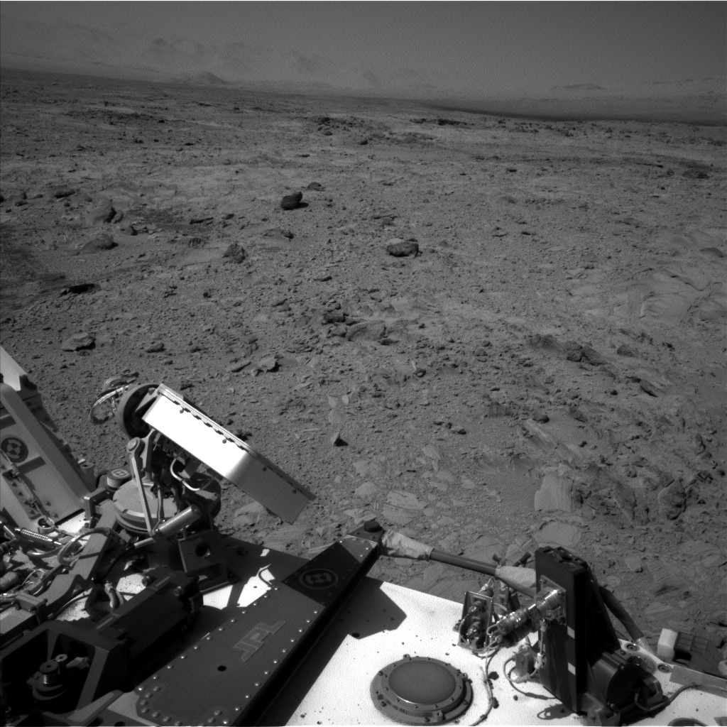 NASA's Mars rover Curiosity acquired this image using its Left Navigation Camera (Navcams) on Sol 490
