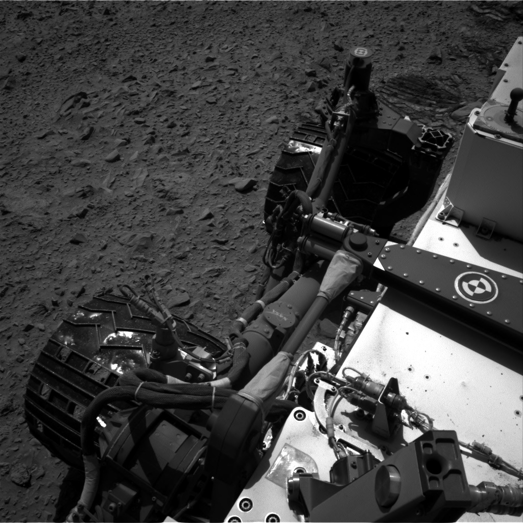NASA's Mars rover Curiosity acquired this image using its Right Navigation Cameras (Navcams) on Sol 490