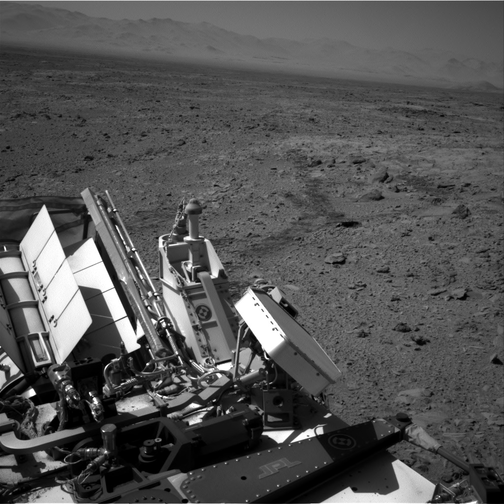 Nasa's Mars rover Curiosity acquired this image using its Right Navigation Camera on Sol 490, at drive 408, site number 24