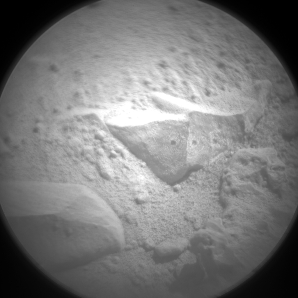 NASA's Mars rover Curiosity acquired this image using its Chemistry & Camera (ChemCam) on Sol 491